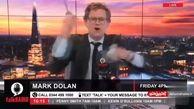مجری عصبانی تلویزیون ماسک را قیچی کرد!/فیلم