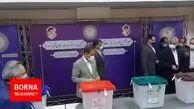لحظه رای دادن جهانگیری در وزارت کشور + فیلم