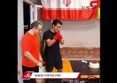 کیک دلاری بازیگر معروف در زور تولد