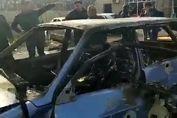 تصاویر تلخ از اجساد غیرنظامیان آذربایجان پس از بمباران + فیلم