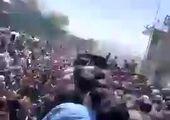 انفجاری مهیب نزدیک فرودگاه کابل + فیلم