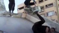 پارکور در ویرانه های غزه + فیلم