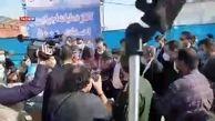 اعتراض مردم بندر امام به جهانگیری/ فیلم
