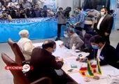 ثبت نام محمدجواد حق شناس، عضو شورای شهر تهران در انتخابات + فیلم