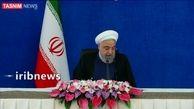 روحانی از نخستین قطار ملی مترو رونمایی کرد + فیلم