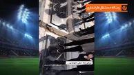 اجرای موسیقی زنده بر سر مزار علی انصاریان