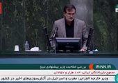 رحیمی مظفری در دفاع از وزیر نیرو: چک سفید امضا  نمیدهیم!