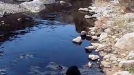 رود نفت و ادامه آتش سوزی در شهر سرخون! + فیلم