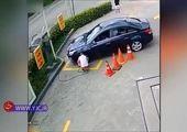 سرقت خودروی مزدا ۳ در چند ثانیه + فیلم