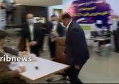 حضور لاریجانی در انتخابات قطعی شد + عکس