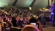 مدیرعامل پرسپولیس در کنسرت یک استقلالی / فیلم