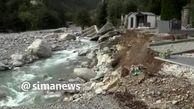 سیلاب مرده ها را با خود برد ! + فیلم
