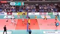 والیبال ایران فینالیست آسیا شد +فیلم