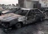 آتش سوزی در ناو ارتش + تکمیلی