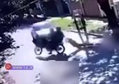 رسید بانک بلای جان دزد قدیمی تهران