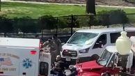 فوری/ تیراندازی در مقابل ساختمان کنگره آمریکا + فیلم