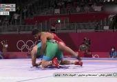 کشتی فرنگی المپیک/ گرایی از فینال جا ماند!