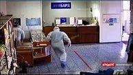 حمله سارقین به جواهر فروشی با لباس های کادر درمان!