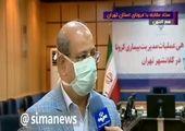 تهران رکورد بستریان کرونا را زد