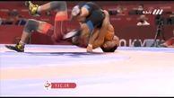 صعود محمدرضا گرایی به مرحله نیمه نهایی المپیک