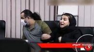 مواجهه دختر مهراب قاسم خانی با سارق قمه کش + فیلم