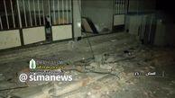 نخستین تصاویر از زلزله ۵.۱ ریشتری رامیار + فیلم