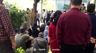 سهامداران معترض در سعادتآباد +فیلم