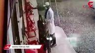 فیلمی از لحظه دزدی طلا توسط تب سنج کرونا !