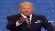 بایدن خطاب به ترامپ: خفه می شوی؟! + فیلم