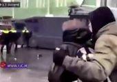 لحظه تیراندازی پلیس به سارقین در اهواز + فیلم