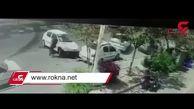 لحظه تصادف خوفناک پژو با چند خودروی دیگر + فیلم