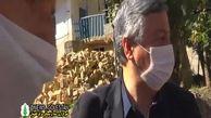 زلزله وسط مصاحبه! + فیلم