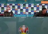 علی دایی در یورو ۲۰۲۰ سوژه شد / عکس
