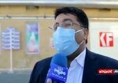 تخریب یک داروخانه بر اثر وزش باد شدید + فیلم