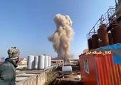 آتش سوزی در لنجهای کنارک + فیلم