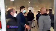 حضور علی پروین و علی کریمی در بیمارستان فرهیختگان
