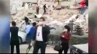 وقوع زلزله وحشتناک در مرز یونان و ترکیه + فیلم